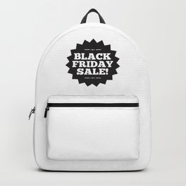 Its Black Friday Sale Backpack