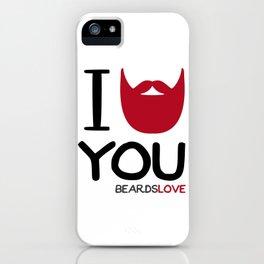 I BEARD YOU iPhone Case