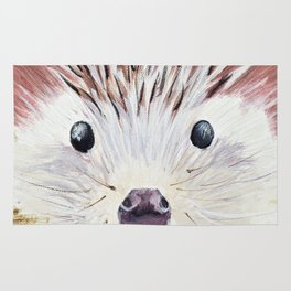 Hedgehog Without a Cause Rug