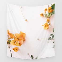Bougainvillea Blooms Wall Tapestry