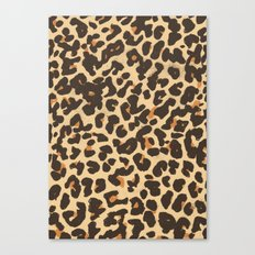 Just Leopard Canvas Print