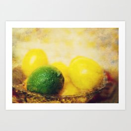 All puckered up ! Art Print