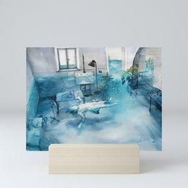 summer at home Mini Art Print