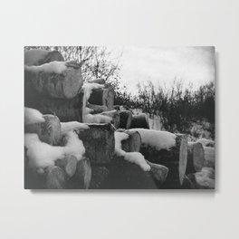 Winter Warmth Metal Print