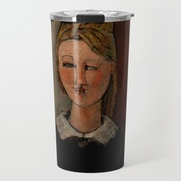 "Amedeo Modigliani ""The Pretty Housewife (La Jolie ménagère)"" Travel Mug"