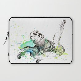 Sea Turtle I Laptop Sleeve