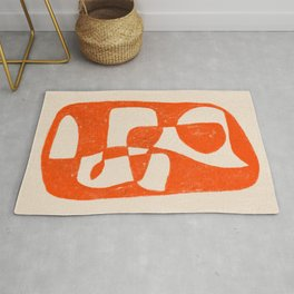Contemporary sophisticated art OA2 Rug