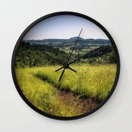 Rambling Wall Clock