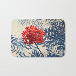 Rowan Berries Bath Mat