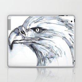 Eagle Portrait (Watercolor Sketch) Laptop & iPad Skin