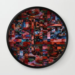 Rhythm and Blues Wall Clock