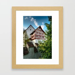 The Fortress Framed Art Print