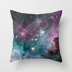 galaxy seapunk Throw Pillow