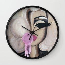 Bubblegum Marilyn Wall Clock