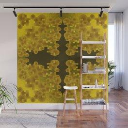 Gold Brocade Wall Mural