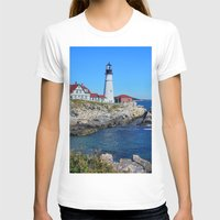 maine T-shirts featuring Maine Icon by Exquisite Photography by Lanis Rossi