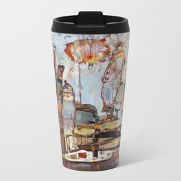Step Lightly Metal Travel Mug