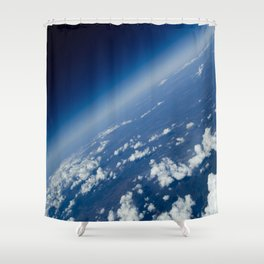 infinite space Shower Curtain