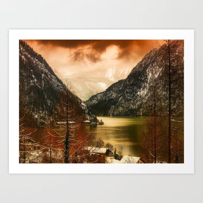 Austrian Wanderlust Art Print