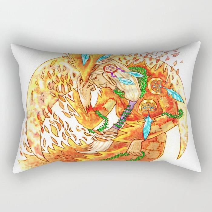 The Crone Rectangular Pillow