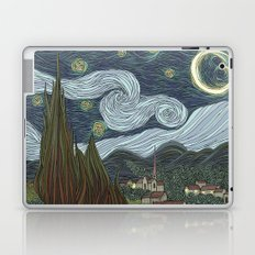 starry night Laptop & iPad Skin