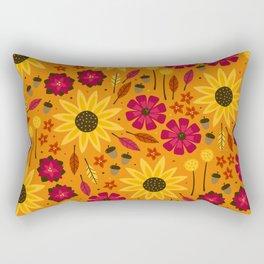 Fall is in th Air Rectangular Pillow