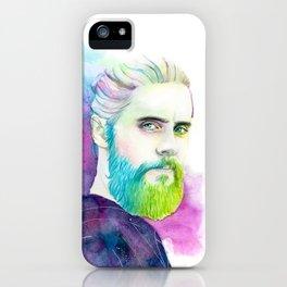 Monolith | Colourful Jared Leto iPhone Case