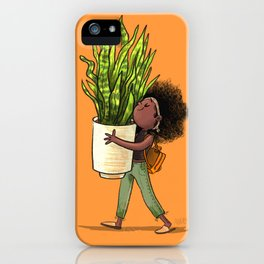 Snake Plant iPhone Case