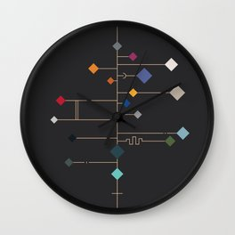 winter equinox Wall Clock