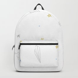 origami paper jets Backpack