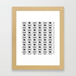 Perpetual Eyes Framed Art Print