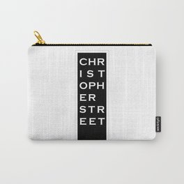 Christopher Street - NYC - Black Carry-All Pouch