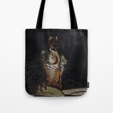 Untamed (woman with tiger features)  Tote Bag