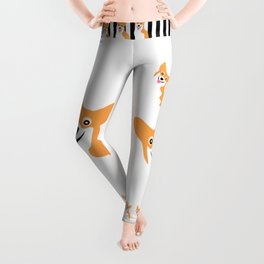 Corgi Smile Leggings