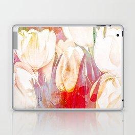 Tulip Fever Abstract Art Laptop & iPad Skin