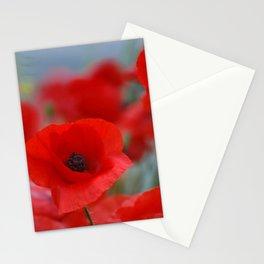 poppy addiction Stationery Cards