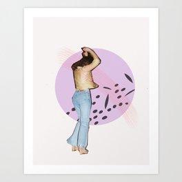 disco vibes Art Print