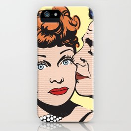 Lucy and Desi iPhone Case
