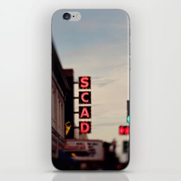 SCAD iPhone Skin
