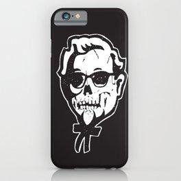 Skull Sanders iPhone Case
