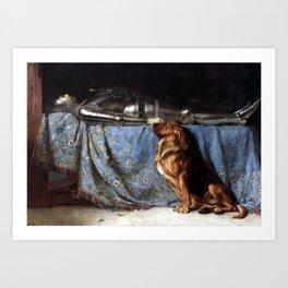 Briton Rivière Requiescat Art Print