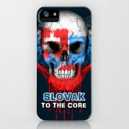 To The Core Collection: Slovakia iPhone Case