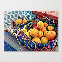 LEMON ZEST Canvas Print