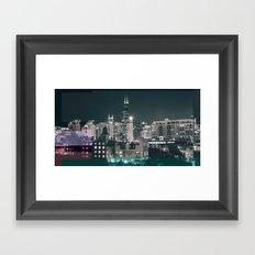 Chicago   Project L0̷SS   Framed Art Print