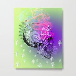 skull fauna Metal Print