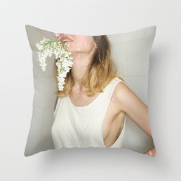 Hot Mess Throw Pillow