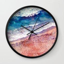 Sea and sand Wall Clock