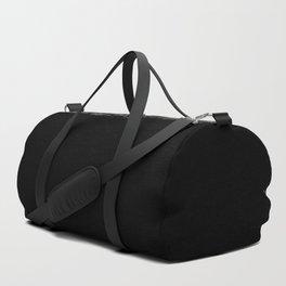 Black Minimalist Duffle Bag