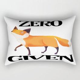 0 Fox Given Rectangular Pillow
