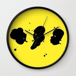 Inklings Wall Clock